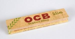 Les feuilles à rouler OCB sont faite en chanvre bio